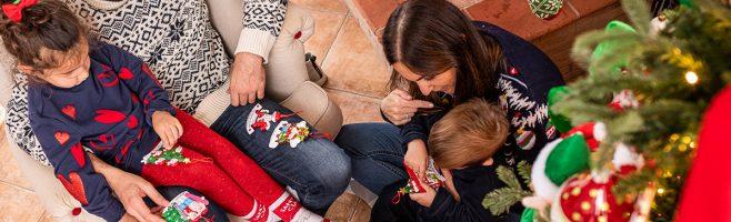 decorazioni natalizie famiglia