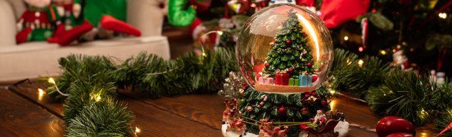 palle di vetro neve